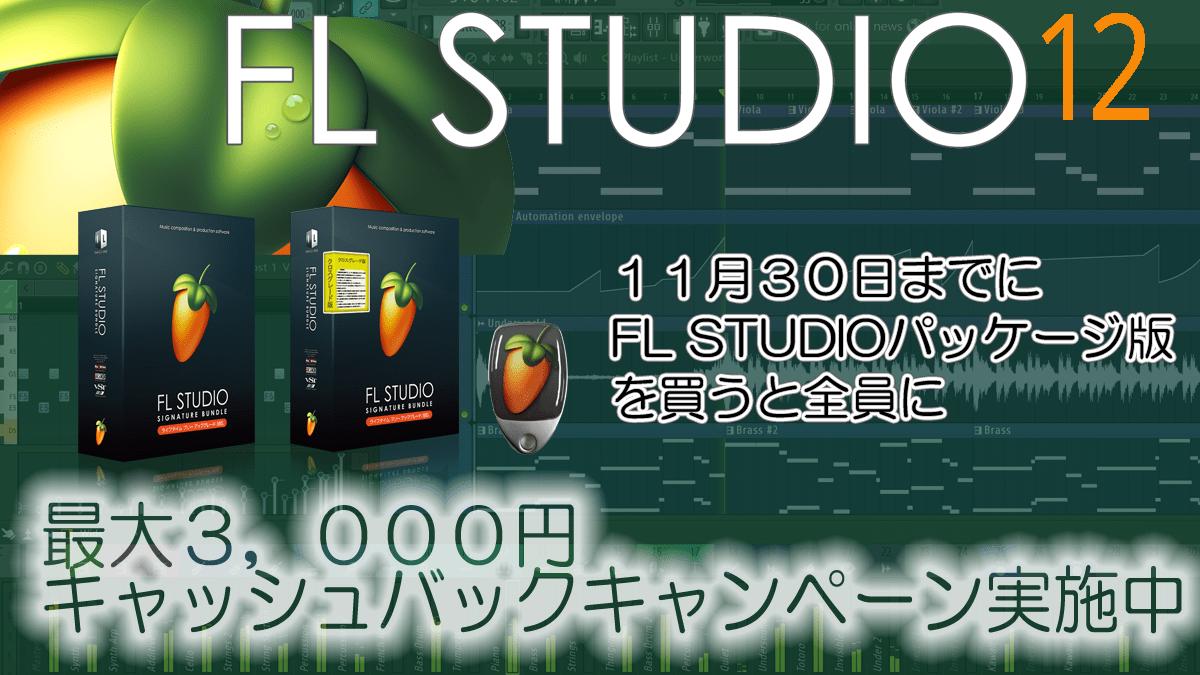 Image-Line Software FL STUDIO 12 キャッシュバック