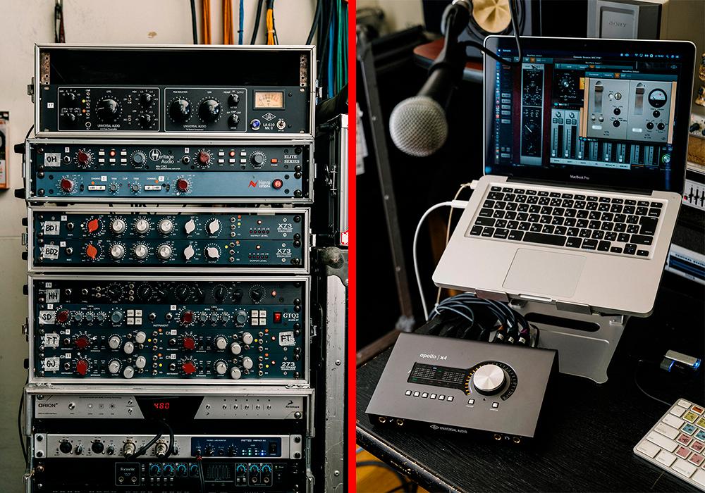 Apollo x4 UAD-2 Heritage Audio HA73