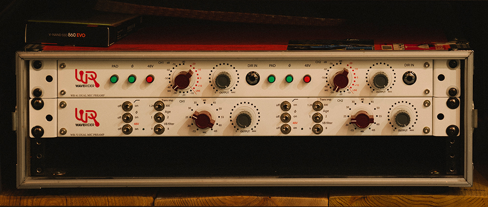 WR-72 DUAL MIC PREAMP